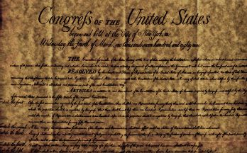 The Bill of Rights (first ten amendments of the Constitution)