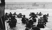 D-Day, June 6, 1944: the Allied invasion of Normandy.
