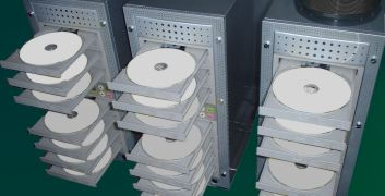 Professional DVD-R duplicators.  A less expensive way to make The American Testimony.
