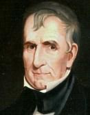 William Henry Harrison (1773-1841), 9th US president, 1841.