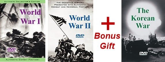 Buy the World Wars and get The Korean War FREE!