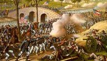 Battle of Antietam, Sharpsburg, Maryland.