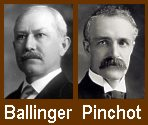 The Ballinger-Pinchot Controversy divided the Republican party.