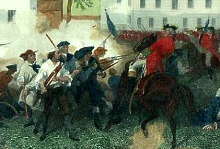 Battle of Lexington Green, 1775