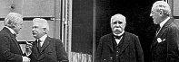 Big Four: David Lloyd George, Georges Clemenceau, Vittorio Orlando, and Woodrow Wilson.