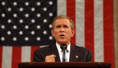 George W. Bush addresses Congress after 911 attacks