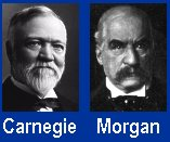 "Andrew Carnegie and JP Morgan: ""Captains of Industry."""