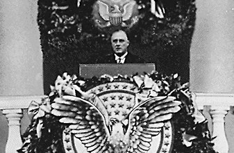 Franklin D. Roosevelt, 1933 inaugural address