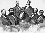 First black Americans elected to Congress; all Republicans.