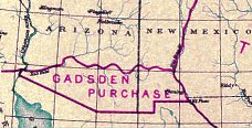 The Gadsden Purchase, 1853.