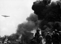 German forces invade Poland on September 1, 1939.