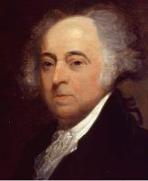 John Adams (1735-1826), Second President of the United States, 1791-1801.