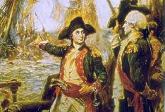 John Paul Jones defeats the British, September 1779