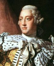 England's King George III