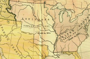 The Louisiana Purchase, 1803