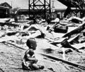 Japan's invasion of China left  thousands of civilians dead.