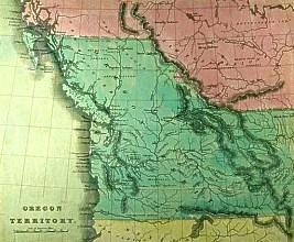 The Oregon Territory.