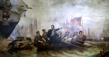 Oliver Hazard Perry in the Battle of Lake Erie