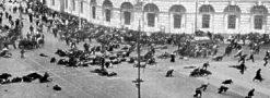 The Bolshevik Revolution, Russia, 1917.