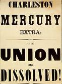 South Carolina secedes, Dec. 20, 1860.
