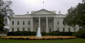 The Bush White House. (Photo Copyright 2003 Bryan Hardesty.  All rights reserved.)